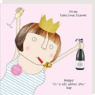 Rosie Made a Thing 'Fabulous Sister' Card